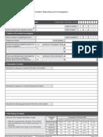 Incident Investigation S4 Form