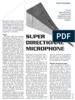 Super Directional Microphone