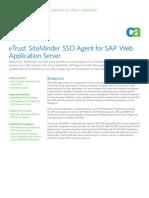 der Sso Sap Webserver Tech Overview