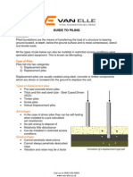 A Guide to Piling