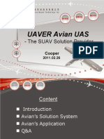 Avian SUAS Total Solution Program