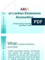 ABC´S for Carbon Emissions Accouting
