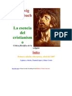 Ludwig Feuerbach La Esencia Del Cristianismo.l Ludwig Feuerbach