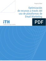 Optimización de recursos a través del uso de plataformas de Email Marketing