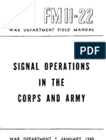 FM11-22 Signal Opns Army and Corps