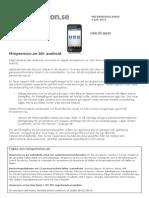minpension.se - 20110704 - minpension.se blir android