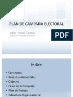 PLAN DE CAMPAÑA ELECTORAL