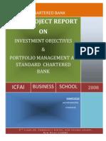 Portfolio Management at Standard Chartered