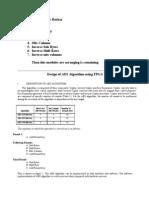 Design of AES Algorithm Using FPGA
