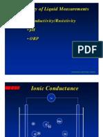 Presentation Thornton Presentation Conductivity Measurement