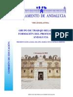 parlamento andaluz-comision educacion-4ª  sesión - 01.03