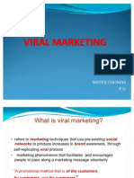 Viral Marketing - Sintoj