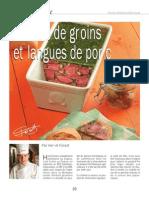 Marbré de groins et langues de porc www.charcutiers-traiteurs.com