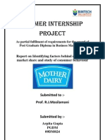 FMCG Mother Dairy