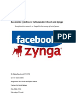Economic Symbiosis Between Facebook and Zynga