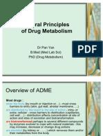 General Principles of Drug Metabolism