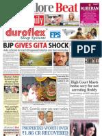 Bangalore Beat Evening Newspaper - 08.07