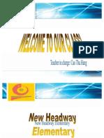 Writing u4 Headway Elementary