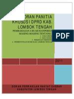 Laporan Hasil Pembahasan Pansus i Final_5 Juli 2011