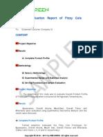 Cola Sample Report