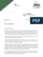 Lettre President CE DGE 06juillet
