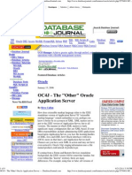 OC4J - The 'Other' Oracle Application Server — DatabaseJournal
