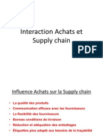 Interaction Achats Et Supply Chain 2