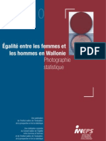 Egalité homme-femme en Wallonie