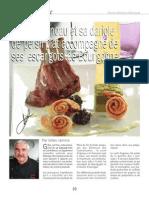 Carré d'agneau et sa dariole de persil plat accompagné de ses escargots de Bourgogne - www.charcutiers-traiteurs.com