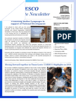 Newsletter UNESCO Timor-Leste #2