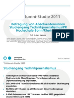 TJ Alumni Studie 2011