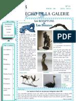 ECHO DE LA GALERIE N° 19