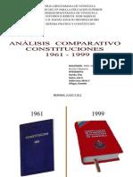 CONSTITUCIONES 1961-1999