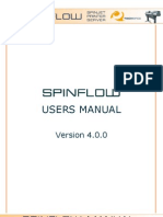 Spinflow Users Manual v4-0-0