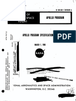 Apollo Program Specification March 1, 1966