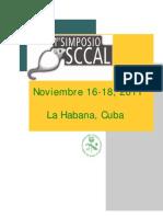 Cuba - Oficial Primer Anuncio Simposio Sccal[1]