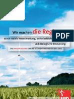 Kommunalwahlprogramm SPD Unterbezirk Region Hannover
