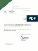 Klarifikasi PLTM Lubuk Sao