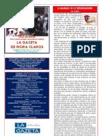 La Gazeta de Mora Claros nº 118 - 08072011