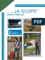 User Manual Aqua-scope