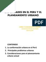 Las Ciudades en El Peru