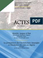 Actes Identite Langue Etat