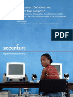 Accenture Development Partnerships Point of View FINAL