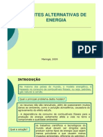 08 Fontes Alternativas de Energia