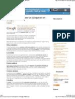 20 trucos para mejorar tus búsquedas en Google