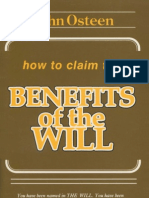 How to Claim the Benefits of the Will - Osteen