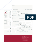 Trident Gurgaon Map