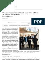 Consórcio assume responsabilidade por serviços públicos em parte da Zona Portuária - O Globo