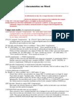 Automatização de documentos