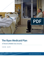 The Ryan Medicaid Plan
